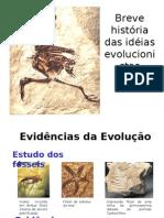 Biologia - Idéias Evolucionistas