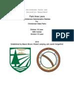 christensenparksandrecreationdepartmenthandbook