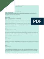 Surat Perjanjian Kerja Karyawan Harian