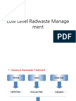 Low Level Radwaste Management