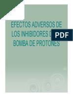Efectos Adversos de Los Inhibidores de La Bomba de Protones