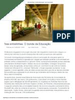 Nas Entrelinhas_ O Bonde Da Educação - Luiz Carlos Azedo