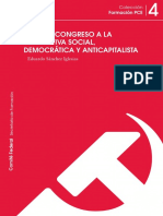 Sanchez Iglesias, Eduardo - Del XVIII Congreso a La Alternativa Social, Democrática y Anticapitalista