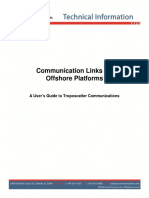 Communication Links for Offshore Platforms 2012