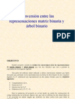 Conversion de Matrices, multiplicacion y operaciones con las matrices de dos dimensiones a otras requeridas
