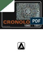 AAVV - Cronologia Latinoamérica y El Mundo 1985 - 1991