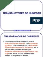 Transductores de Humedad