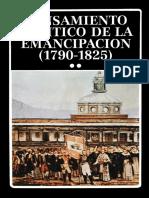 AAVV - Pensamiento_politico de La Emancipación 1790 - 1825 T.2