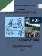Review Jurnal Sistem Sosial sistem penanganan konflik sosial