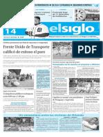 Edición Impresa El Siglo 14-06-2016