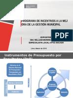 2.2- Programa de Incentivos