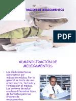 ADMINISTRACION DE MEDICAMENTOS ULARE 2016  SI.ppt
