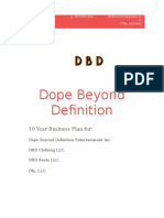 Dope Beyond Definition Ent