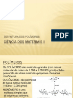 Cmii Estrutura Dos Polímeros Pa