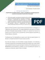 60 Organizaciones y Periodistas Apoyan Mecanismo de Proteccion en Guanajuato