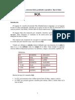 Conceptos generales SQL