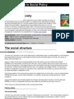 Social Policy Society