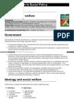 Social Policy Politics