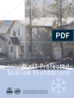 Frost Protected Shallow Foundation