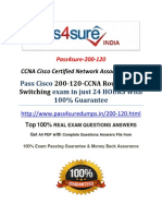 Pass4sure 200-120 Practice Exam