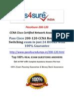 Pass4sure 200-120 Practice Exam