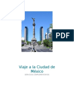 Analisis Del Viaje a CDMX