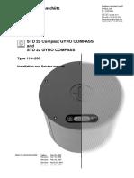 Standart 20-22 Instalation manual