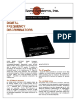 Digital Frequency Discriminators