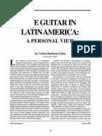 Guitar in Latin America by Carlos Barbosa-lima