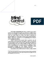 13 Mind Control