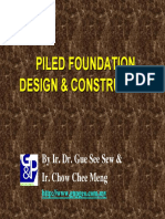 Piled Foundation