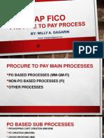 SAP Procure to Pay Process