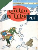 Tintin in Tibet the Adventures of Tintin