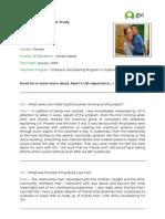 GVI Case Studies - Averi Becque