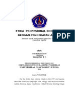 Etika Profesional Konseling Dalam Pendekatan Agama