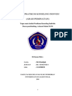Laporan Praktikum Konseling Individu (Arah Peminatan)