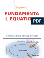 Fundamental Equations