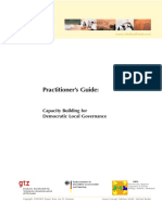 0073 - Capacity Building for Democratic Local Governance - Method