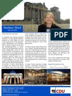 zweiter Berliner Brief Juni 2016