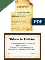 2) modele diplome