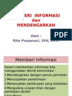 Memberi Informasi Dan Mendengarkan