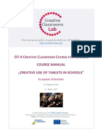 CCL Course Manual 'Creative Use of Tablets'