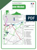 Comment se rendre au Mont-St-Michel pour le Grand Départ
