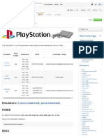 Playstation 1 · RetroPie_RetroPie-Setup Wiki