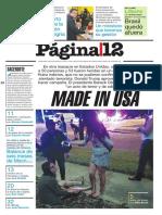 Página 12 Del Día 13 06 2016. Para Descargar.