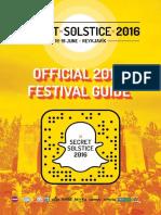Official Secret Solstice 2016 Festival Guide