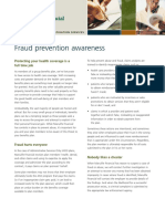 Fraud Prevention Awareness