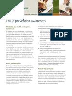 Fraud Prevention Awareness