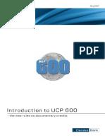 Introduction UCP600 UK