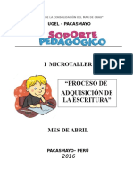 Microtaller Plan